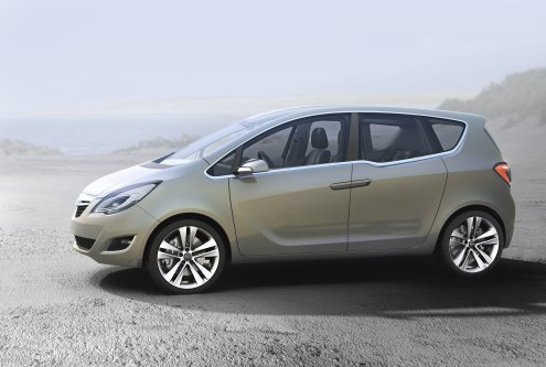 opel meriva. dresses Opel Meriva 1.6-16V